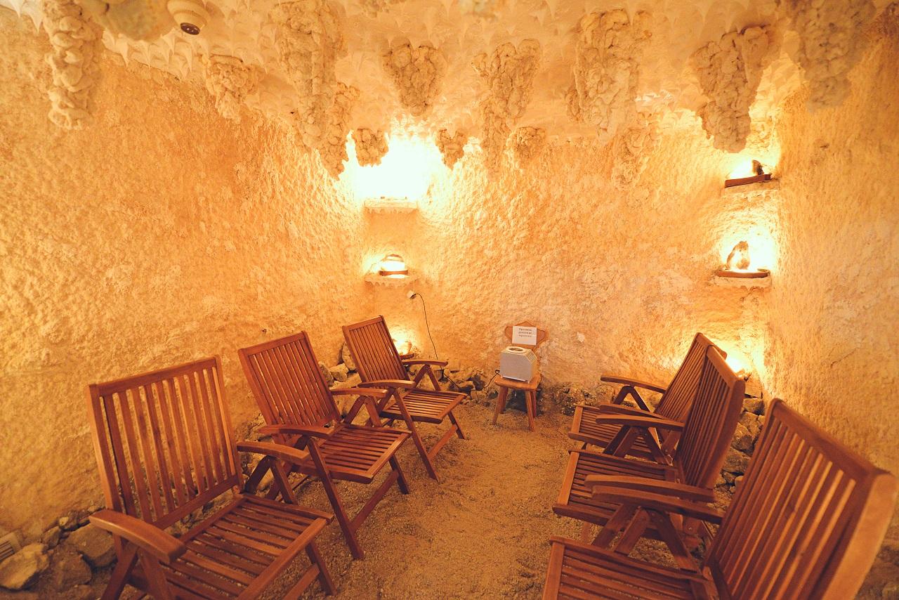 соляные пещеры в трускавце