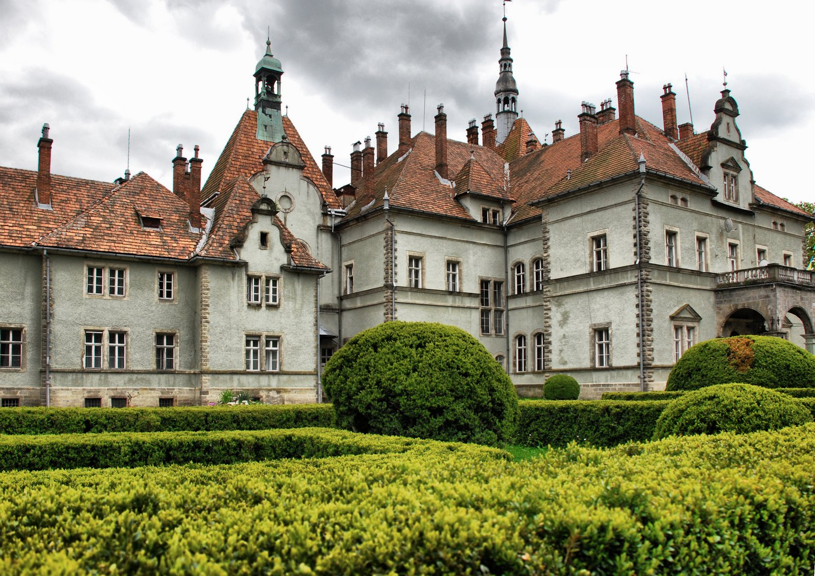 шенборн замок экскурсия с трускавца